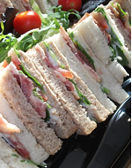 Meat Feast Sandwich Platter by Catering Heaven