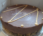 Salted Caramel Chocolate Torte