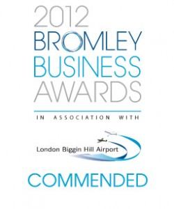 Catering Heaven are commended at the Bromley Business Awards 2012