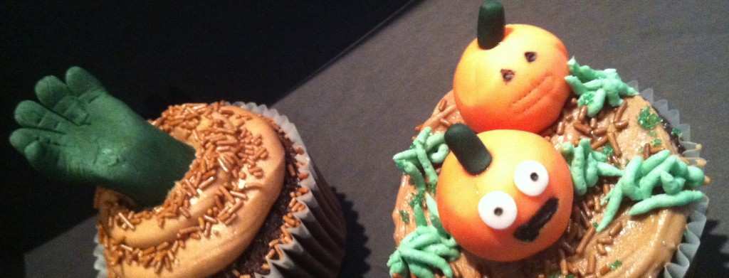 Halloween Cupcakes by Catering Heaven