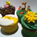 Easter Cupcakes by catering heaven