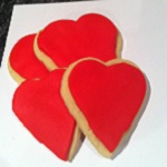 Valentines Day biscuits