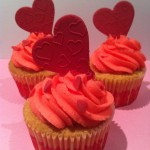 Valentines cupcakes by catering heaven