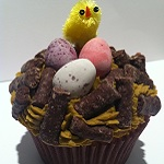 Easter Basket Cupcakes by Catering Heaven