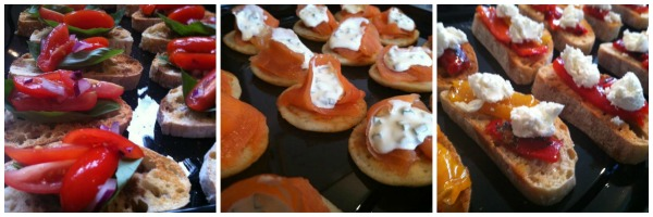 canapes by catering heaven